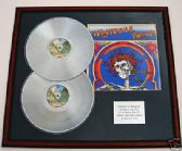 GRATEFUL DEAD - Double platinum LP disc and cover